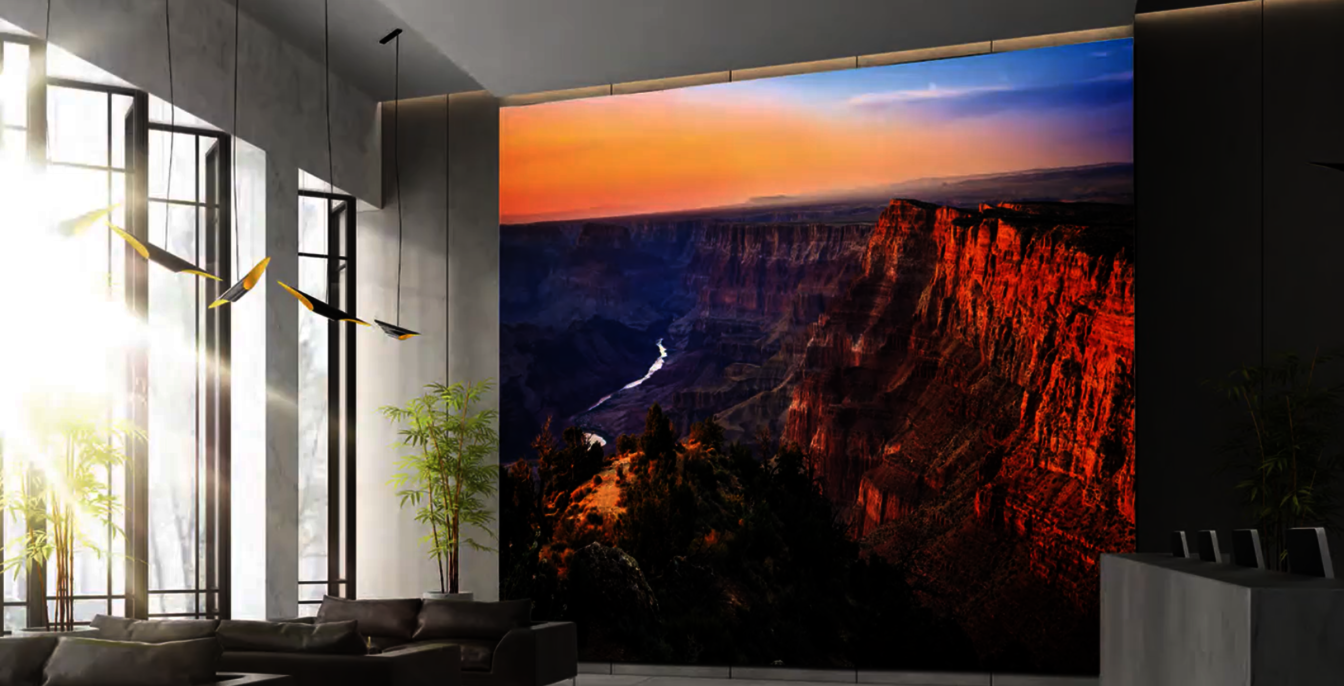 Samsung to Ship its Enormous 292-Inch 'The Wall Luxury