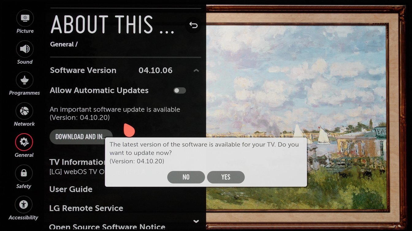 New LG OLED Firmware Update Fixes HDR Luminance Fluctuations