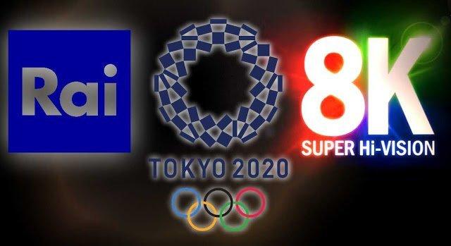 Italy's RAI TV to Broadcast 2020 Tokyo Olympics in 8K Resolution